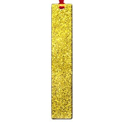 Gold  Glitter Large Book Marks
