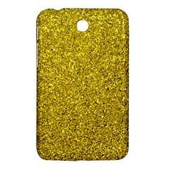 Gold  Glitter Samsung Galaxy Tab 3 (7 ) P3200 Hardshell Case