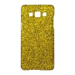 Gold  Glitter Samsung Galaxy A5 Hardshell Case