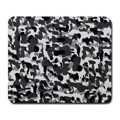 Grey Camo Large Mousepads