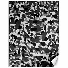 Grey Camo Canvas 18  X 24