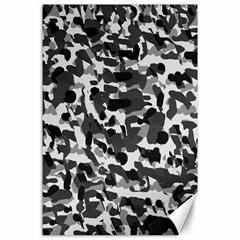 Grey Camo Canvas 24  X 36
