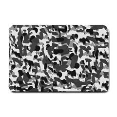 Grey Camo Small Doormat