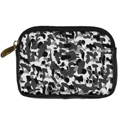 Grey Camo Digital Camera Cases
