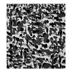 Grey Camo Shower Curtain 66  X 72  (large)