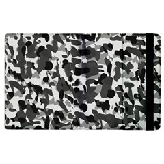 Grey Camo Apple Ipad 2 Flip Case