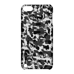 Grey Camo Apple Ipod Touch 5 Hardshell Case With Stand