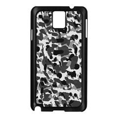 Grey Camo Samsung Galaxy Note 3 N9005 Case (black)