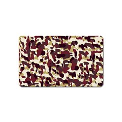Red Camo Magnet (name Card)