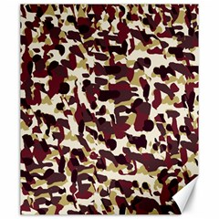 Red Camo Canvas 20  X 24