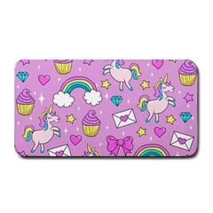 Cute Unicorn Pattern Medium Bar Mats