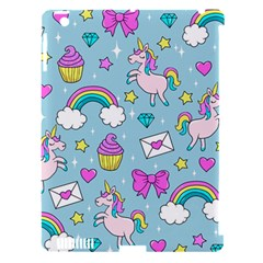 Cute Unicorn Pattern Apple Ipad 3/4 Hardshell Case (compatible With Smart Cover)