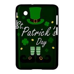 St Patricks Leprechaun Samsung Galaxy Tab 2 (7 ) P3100 Hardshell Case