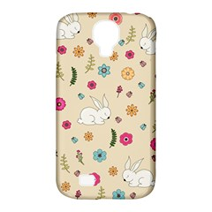 Easter Bunny  Samsung Galaxy S4 Classic Hardshell Case (pc+silicone)