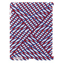Abstract Chaos Confusion Apple Ipad 3/4 Hardshell Case (compatible With Smart Cover)