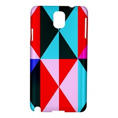 Geometric Pattern Design Angles Samsung Galaxy Note 3 N9005 Hardshell Case