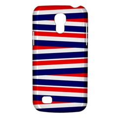 Red White Blue Patriotic Ribbons Galaxy S4 Mini