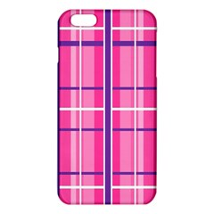 Gingham Hot Pink Navy White Iphone 6 Plus/6s Plus Tpu Case