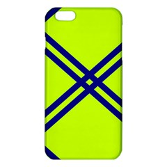 Stripes Angular Diagonal Lime Green Iphone 6 Plus/6s Plus Tpu Case