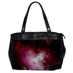 Nebula Red Office Handbags