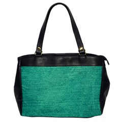 Green Denim Office Handbags