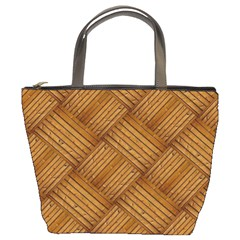 Wood Texture Background Oak Bucket Bags
