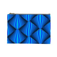 Abstract Waves Motion Psychedelic Cosmetic Bag (large)