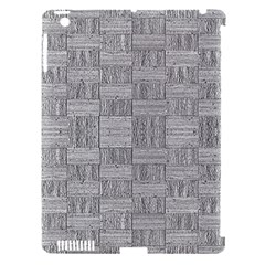 Texture Wood Grain Grey Gray Apple Ipad 3/4 Hardshell Case (compatible With Smart Cover)