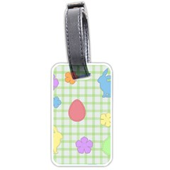 Easter Patches  Luggage Tags (one Side)