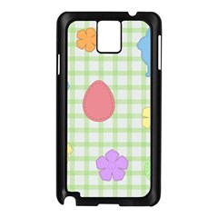 Easter Patches  Samsung Galaxy Note 3 N9005 Case (black)