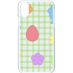 Easter Patches  Apple Iphone X Seamless Case (white)