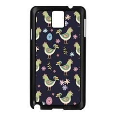 Easter Pattern Samsung Galaxy Note 3 N9005 Case (black)