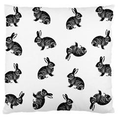 Rabbit Pattern Large Cushion Case (one Side)
