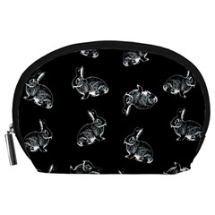 Rabbit Pattern Accessory Pouches (large)