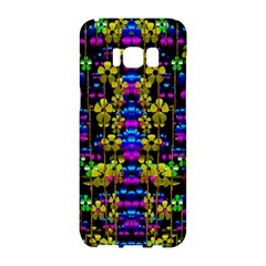 Flowers In The Most Beautiful  Dark Samsung Galaxy S8 Hardshell Case