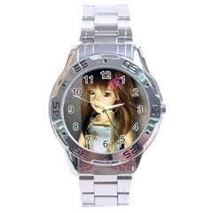 Mary Stainless Steel Analogue Watch