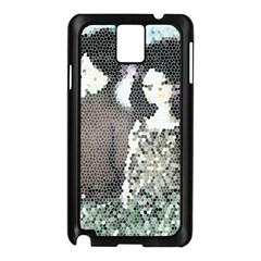 Dolls Stained  Glass Samsung Galaxy Note 3 N9005 Case (black)