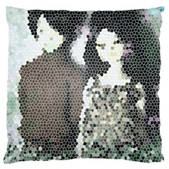 Dolls Stained  Glass Standard Flano Cushion Case (two Sides)