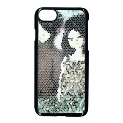 Dolls Stained  Glass Apple Iphone 8 Seamless Case (black)