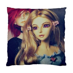 Doll Couple Standard Cushion Case (one Side)