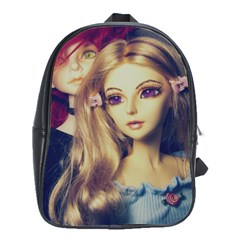Doll Couple School Bag (large)