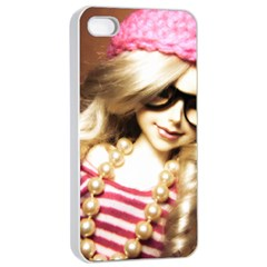 Cover Girl Apple Iphone 4/4s Seamless Case (white)