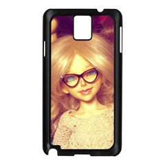 Girls With Glasses Samsung Galaxy Note 3 N9005 Case (black)