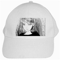 Girl White Cap