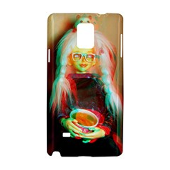 Eating Lunch 3d Samsung Galaxy Note 4 Hardshell Case