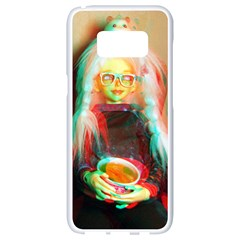 Eating Lunch 3d Samsung Galaxy S8 White Seamless Case