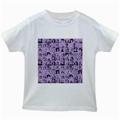 Lilac Yearbok Kids White T Shirts