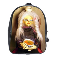 Eating Lunch School Bag (large)