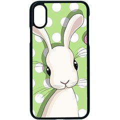 Easter Bunny  Apple Iphone X Seamless Case (black)
