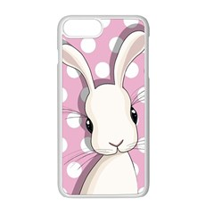 Easter Bunny  Apple Iphone 8 Plus Seamless Case (white)